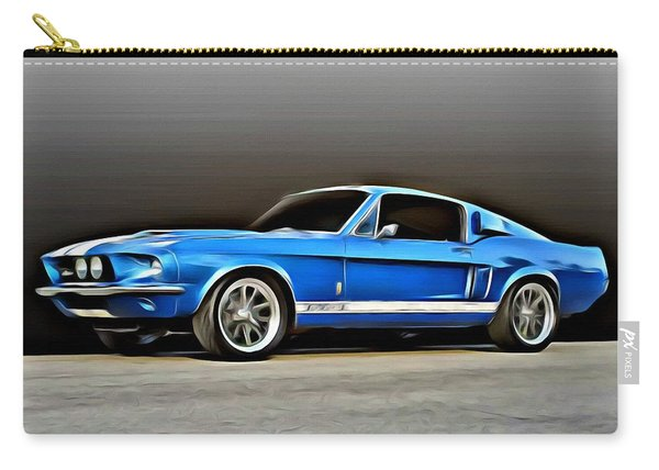 1967 Shelby Mustang Gt500 Carry-all Pouch