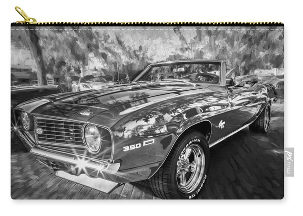 1969 Chevy Camaro Ss Painted Bw  Carry-all Pouch