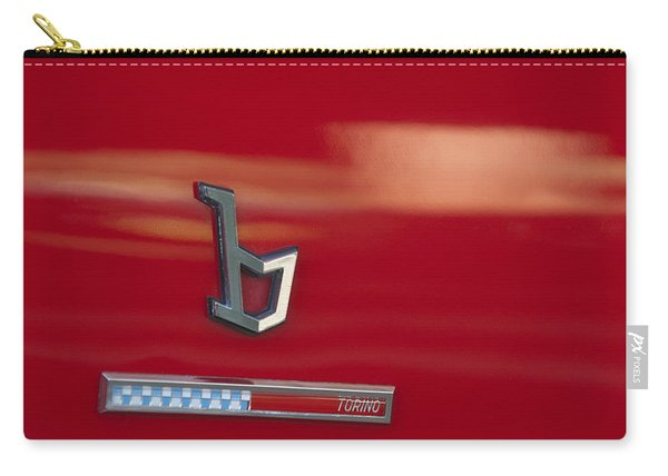 1971 Alfa Romeo Montreal Emblem Carry-all Pouch