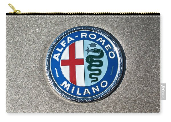 1973 Alfa Romeo Gtv Emblem -0226c55 Carry-all Pouch