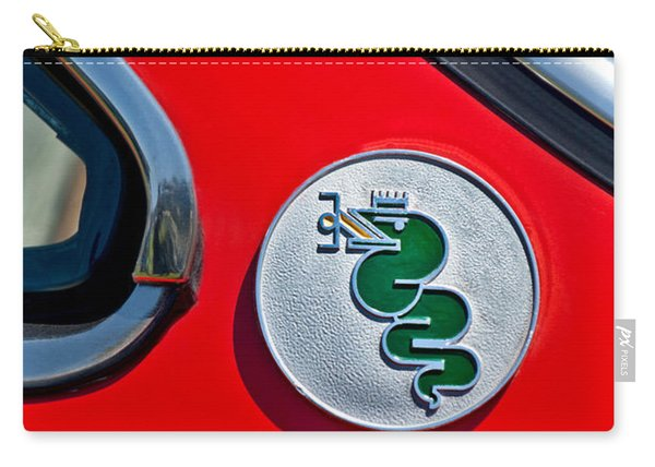1974 Alfa Romeo Gtv Emblem  Carry-all Pouch