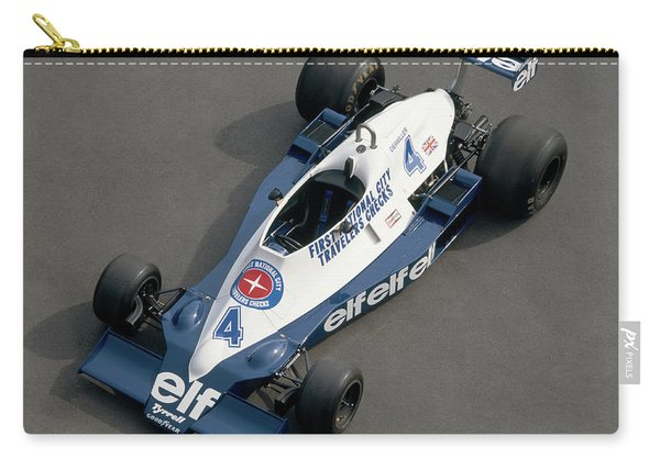 1978 Tyrrell-cosworth 3.0 Litre F1 Carry-all Pouch