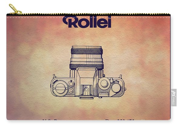 1979 Rollei Camera Patent Art 2 Carry-all Pouch