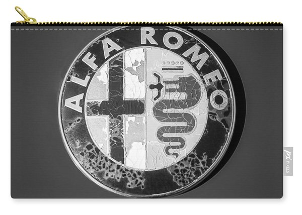 1986 Alfa Romeo Spider Quad Emblem Carry-all Pouch