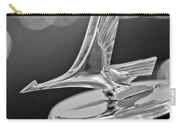 1932 Studebaker Dictator Custom Coupe Hood Ornament -0850bw Carry-all Pouch