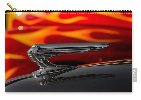 1939 Graham Coupe Hood Ornament Carry-all Pouch