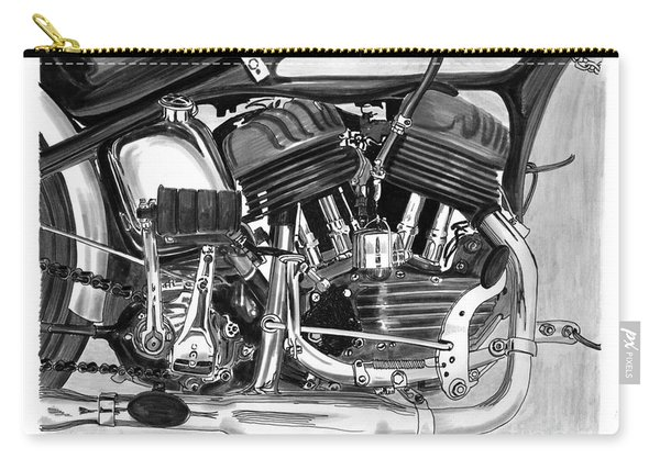Harley Davidson W L A Carry-all Pouch