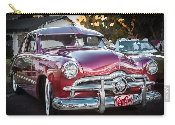 1949 Ford 2 Door Custom  Carry-all Pouch