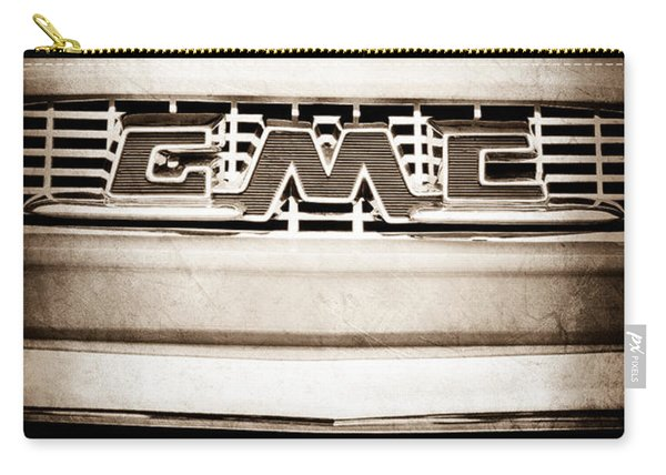 1956 Gmc 100 Deluxe Edition Pickup Truck Emblem Carry-all Pouch