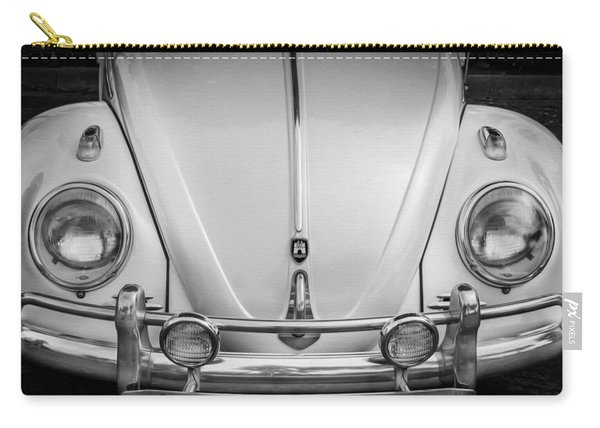 1960 Volkswagen Beetle Vw Bug   Bw Carry-all Pouch