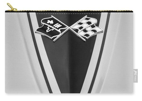 1967 Chevrolet Corvette Coupe Hood Emblem Carry-all Pouch
