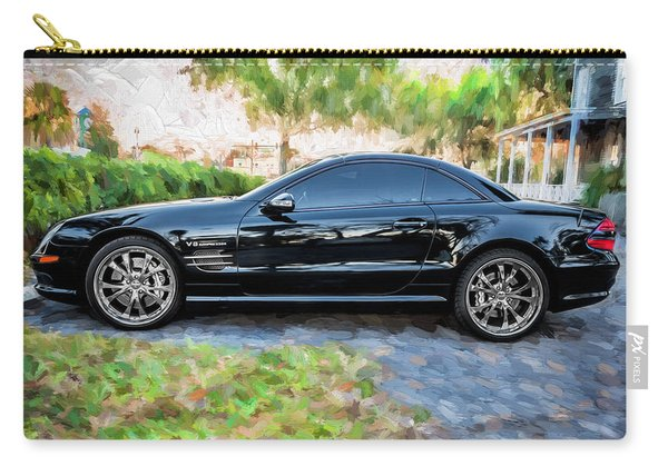 2006 Mercedes Benz Sl55 V8 Kompressor Coupe Painted  Carry-all Pouch