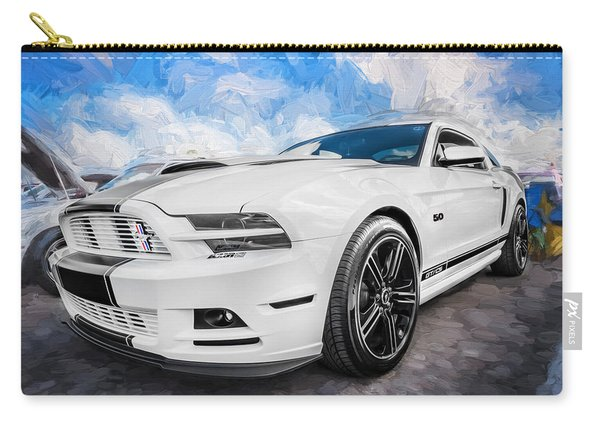 2014 Ford Mustang Gt Cs Painted  Carry-all Pouch