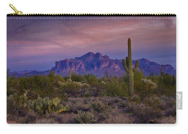 A Beautiful Desert Evening  Carry-all Pouch