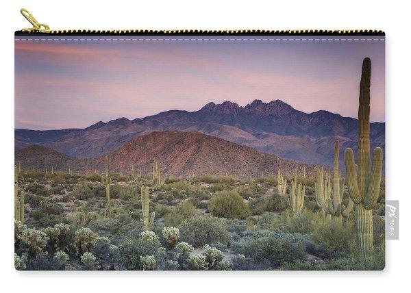 A Desert Sunset  Carry-all Pouch