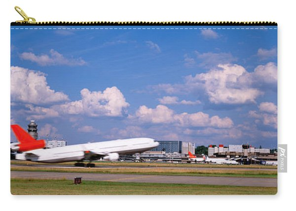 Airplane Taking Off, Zurich Airport Carry-all Pouch