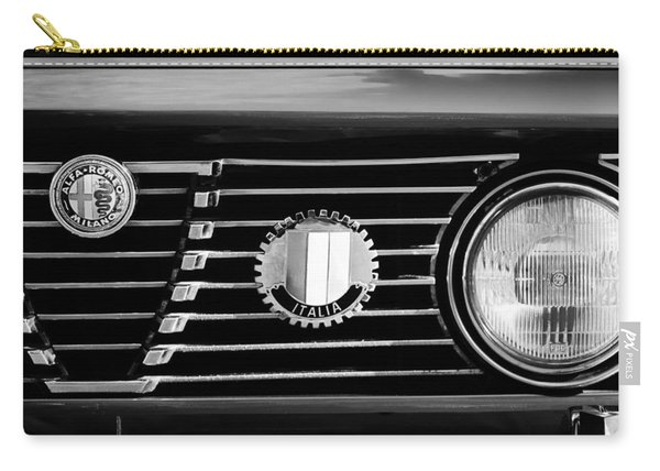 Alfa-romeo Grille Emblem Carry-all Pouch