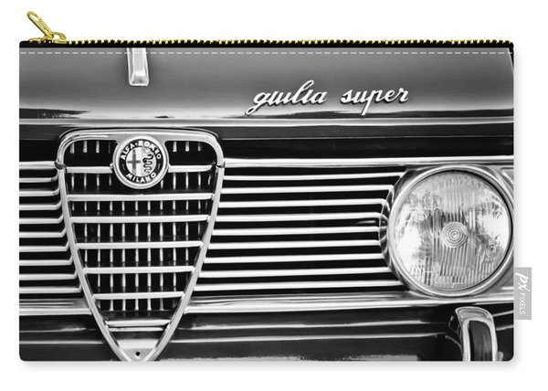 Alfa-romeo Guilia Super Grille Emblem Carry-all Pouch