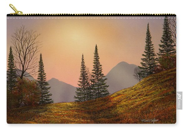Alpine Sunset Carry-all Pouch