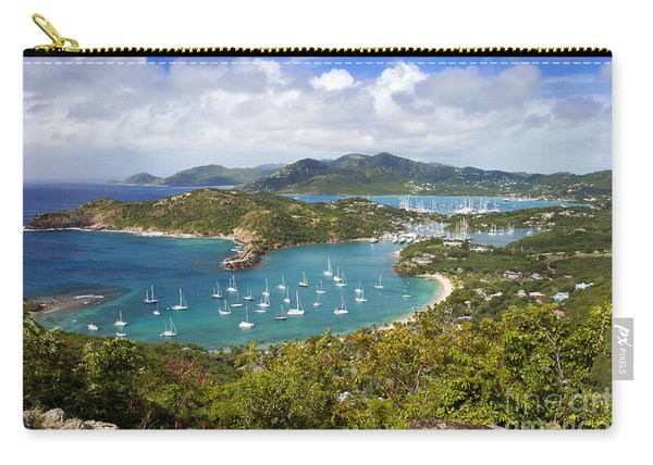 Carry-all Pouch featuring the photograph Antigua by Brian Jannsen