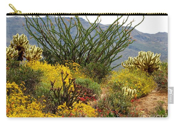 Arizona Springtime Carry-all Pouch