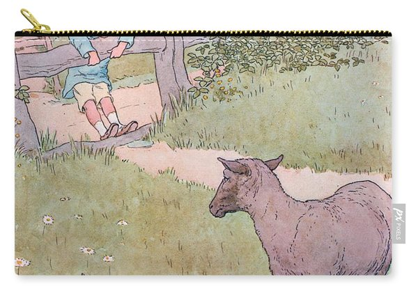 Baa Baa Black Sheep Carry-all Pouch