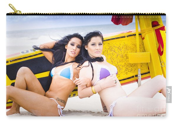 Beach Babes Carry-all Pouch