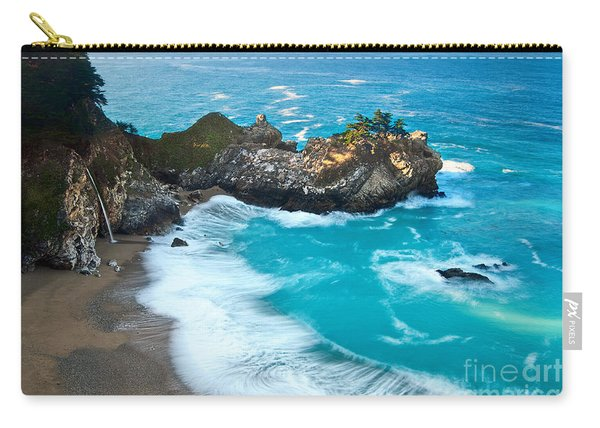 Beautiful Mcway Falls Along The Big Sur Coast. Carry-all Pouch
