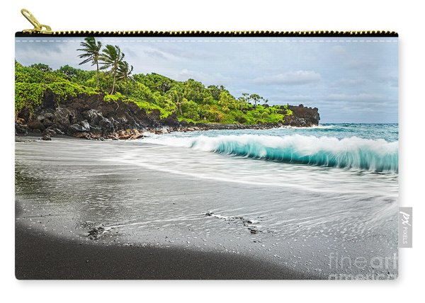 Black Sand Paradise Carry-all Pouch