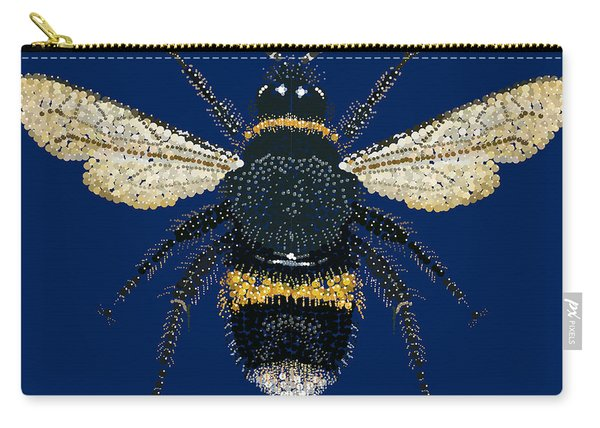 Bumblebee Bedazzled Carry-all Pouch