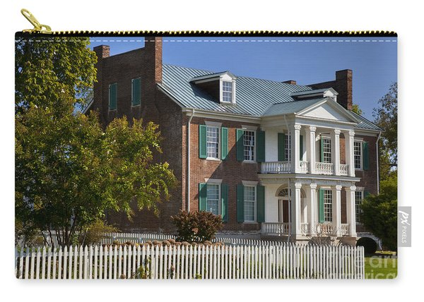 Carry-all Pouch featuring the photograph Carnton Plantation by Brian Jannsen