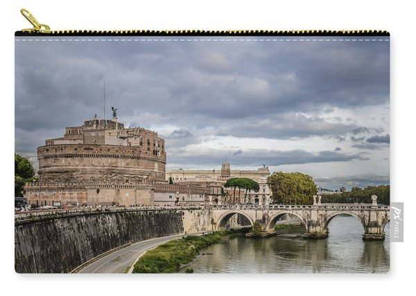 Castle St Angelo In Rome Italy Carry-all Pouch