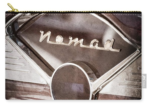 Chevrolet Belair Nomad Dashboard Emblem Carry-all Pouch