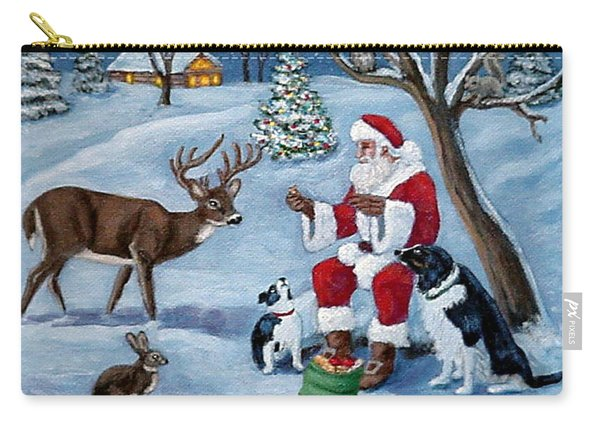 Christmas Treats Carry-all Pouch