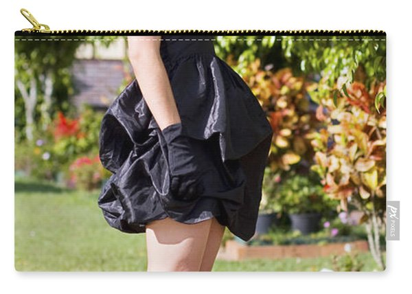 Classy Rich Woman Carry-all Pouch