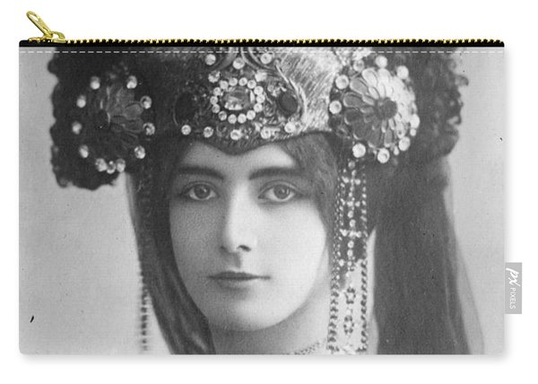 Cleo De Merode (1845-1931) Carry-all Pouch