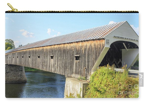 Cornish-windsor Covered Bridge IIi Carry-all Pouch