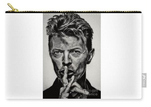 David Bowie - Pencil Abstract Carry-all Pouch