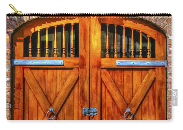 Doors Of Charleston Carry-all Pouch