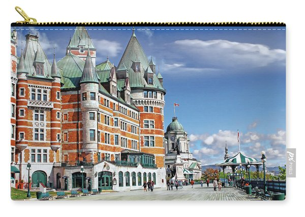 Fairmont Le Chateau Frontenac Series 01 Carry-all Pouch