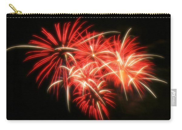 Fireworks Over Kauffman Stadium Carry-all Pouch
