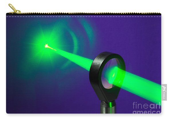 Focusing Laser Light Carry-all Pouch
