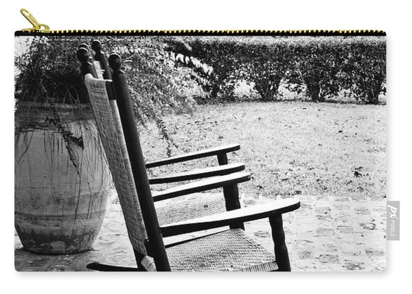 Front Porch Rockers - Bw Carry-all Pouch