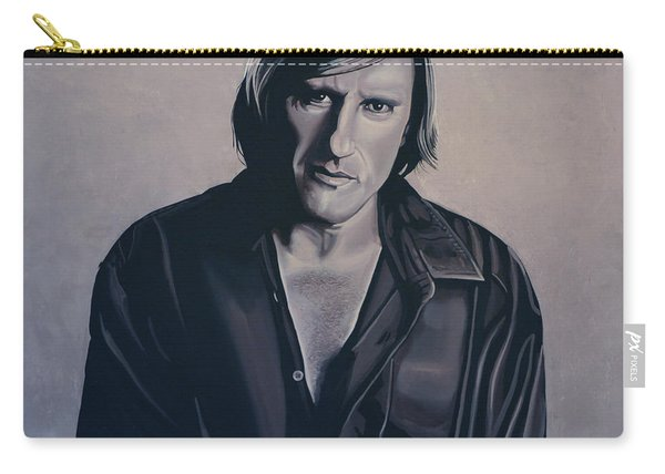 Gerard Depardieu Painting Carry-all Pouch