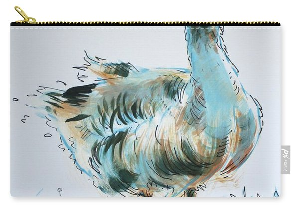 Goose Drawing Carry-all Pouch