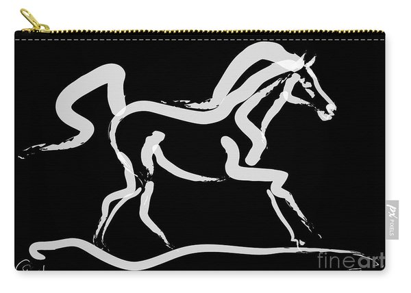Horse-runner Carry-all Pouch