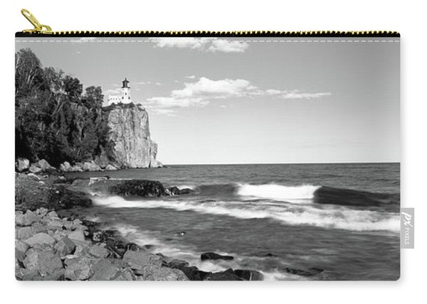 Lighthouse On A Cliff, Split Rock Carry-all Pouch