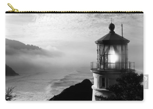 Lighthouse On A Hill, Heceta Head Carry-all Pouch
