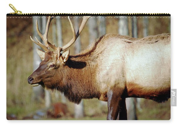Male Elk Carry-all Pouch