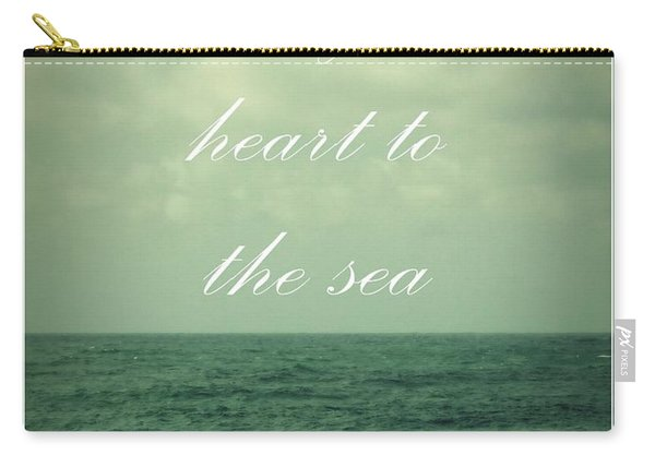 Lose Your Heart To The Sea Carry-all Pouch